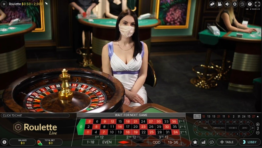 Woo Casino Live Roulette