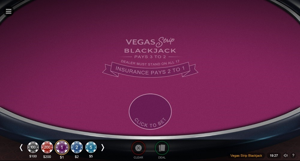 32Red Casino Automated Blackjack