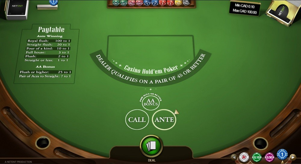 32Red Casino Automated Poker