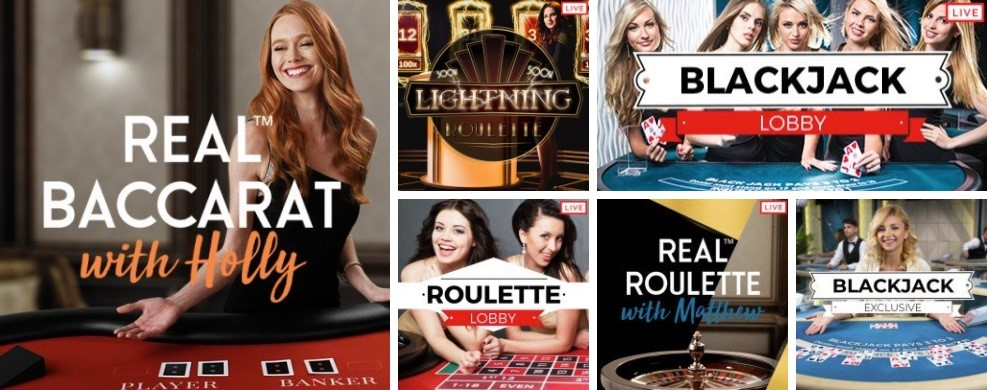 32Red Casino Live Casino Games