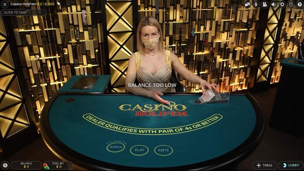 32Red Casino Live Poker