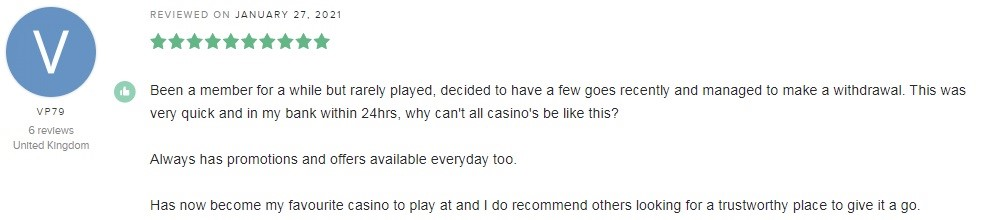 32Red Casino Player Review 3