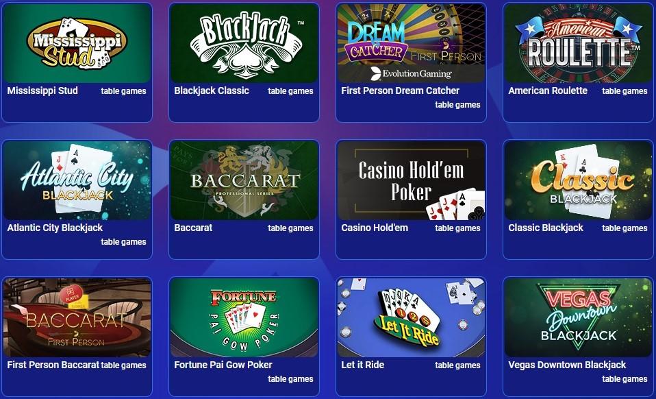 All British Casino Automated Casino Table Games