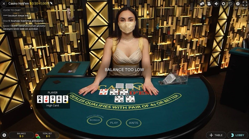 All British Casino Live Poker