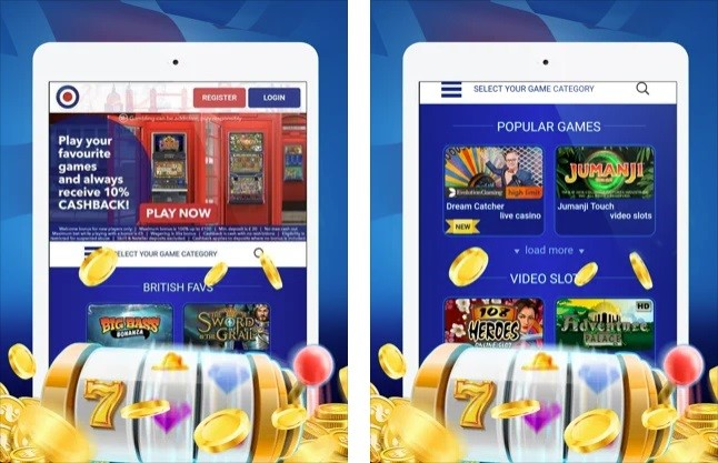 All British Casino Mobile Play