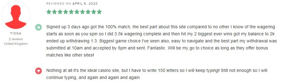 All British Casino Player Review 4