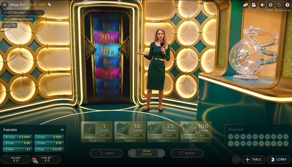 Betiton Casino Live Game Show