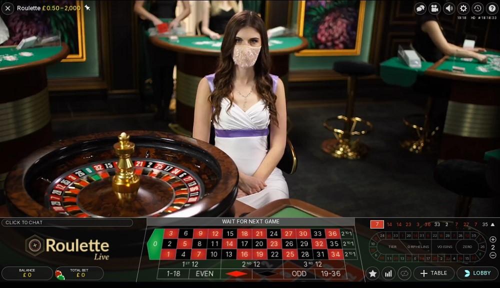 Betiton Casino Live Roulette