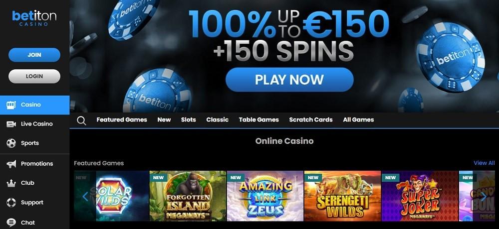 Betiton Casino Review