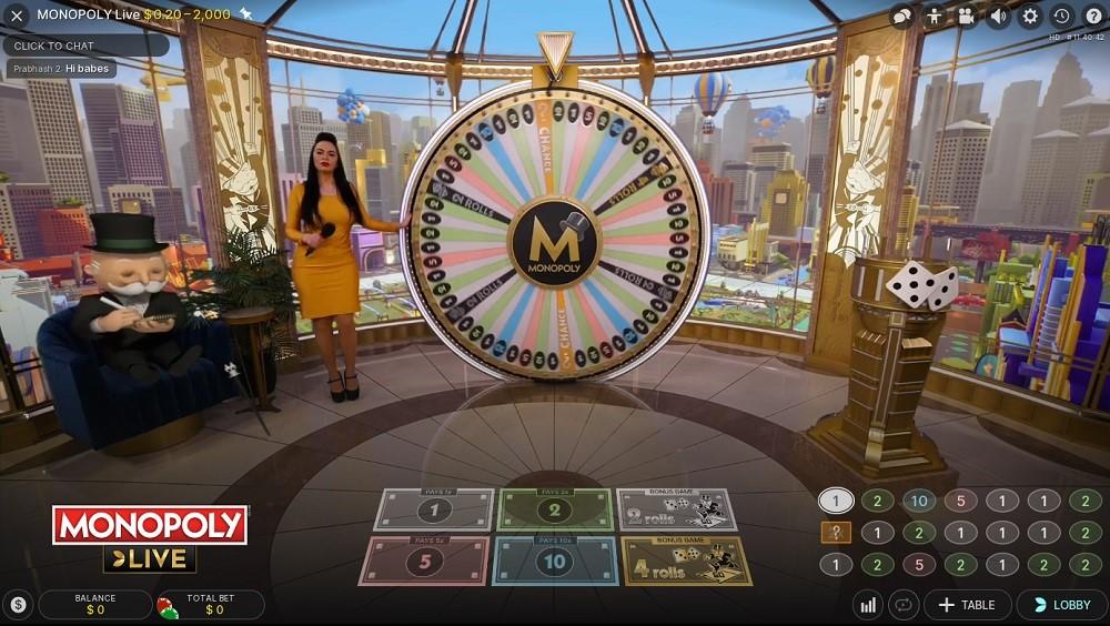 Betsson Casino Live Game Show
