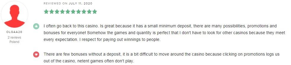 Betsson Casino Player Review 2