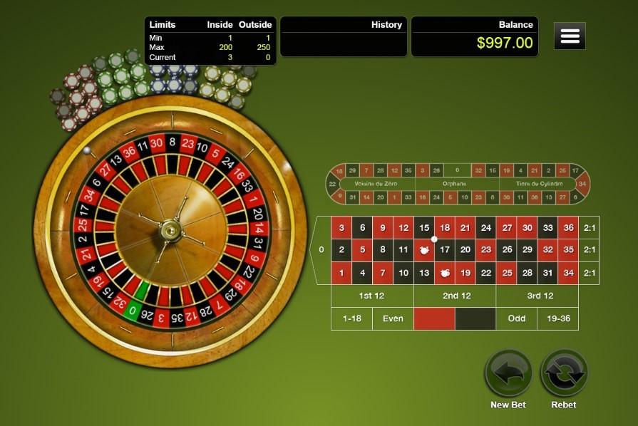 Captain Jack Casino Automated Roulette