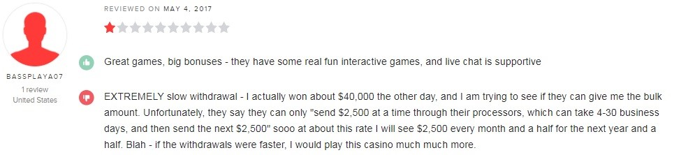 Captain Jack Casino Player Review 4