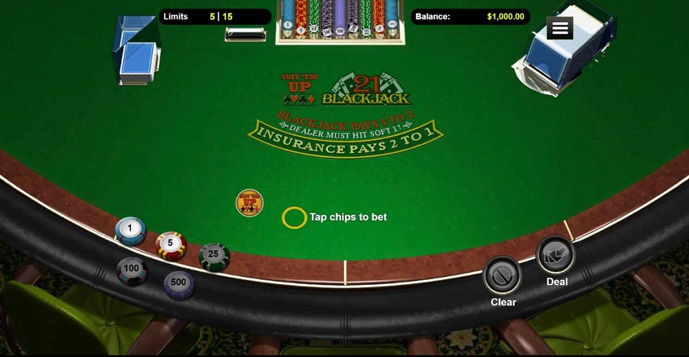 Club Player Casino Automated Blackjack