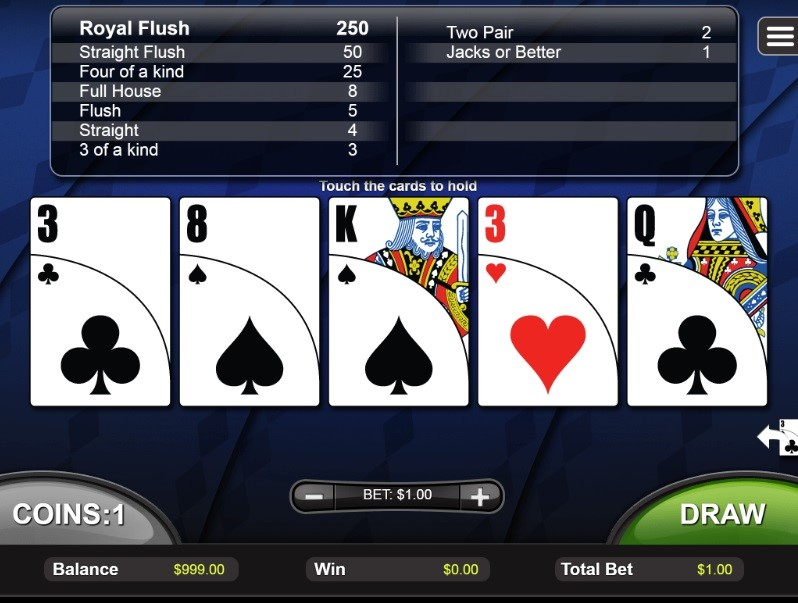 Club Player Casino Automated Poker