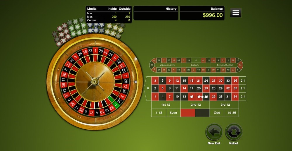 Club Player Casino Automated Roulette