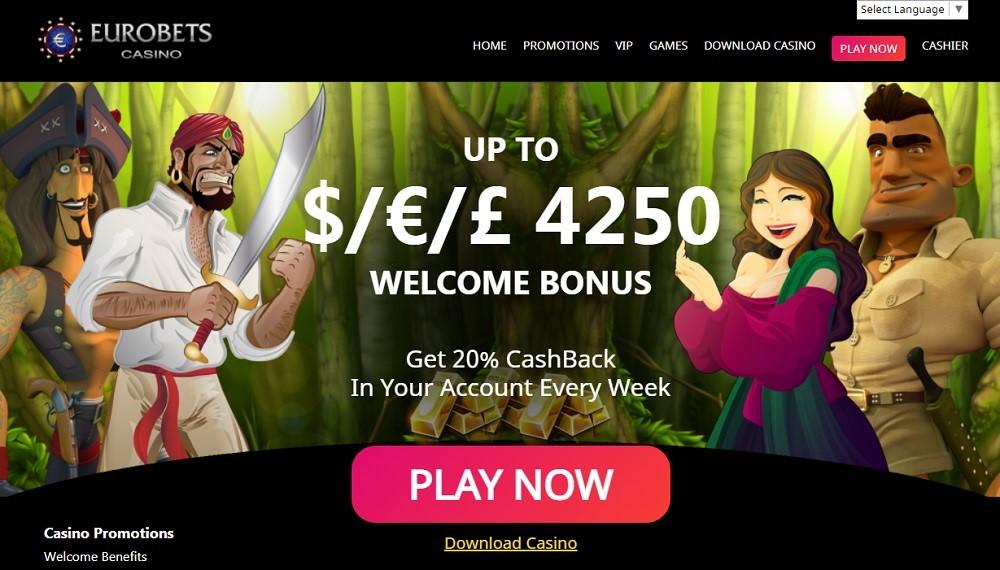 Eurobets Casino Review