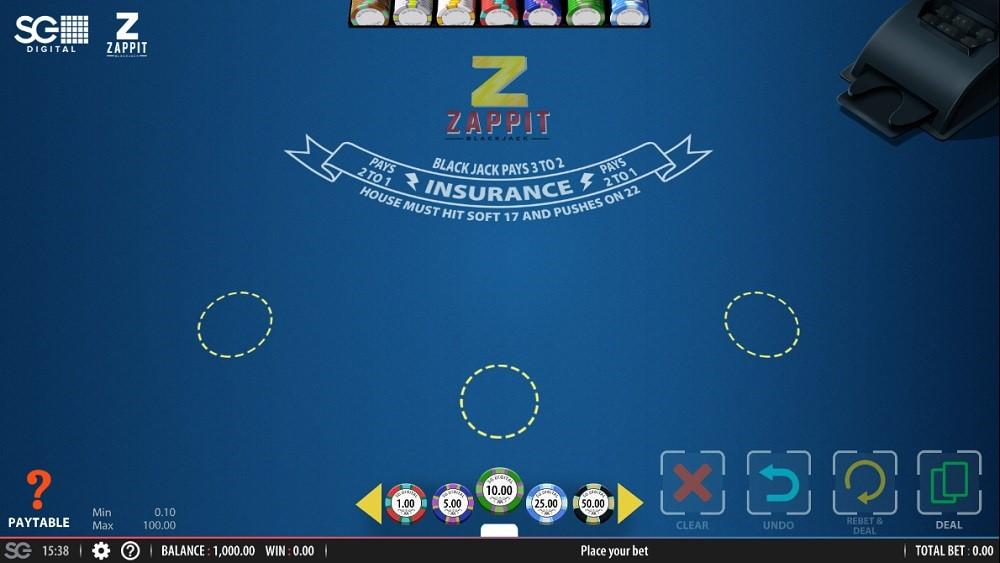 Fun Casino Automated Blackjack