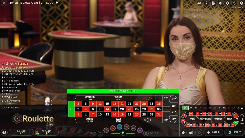 Fun Casino Live Roulette