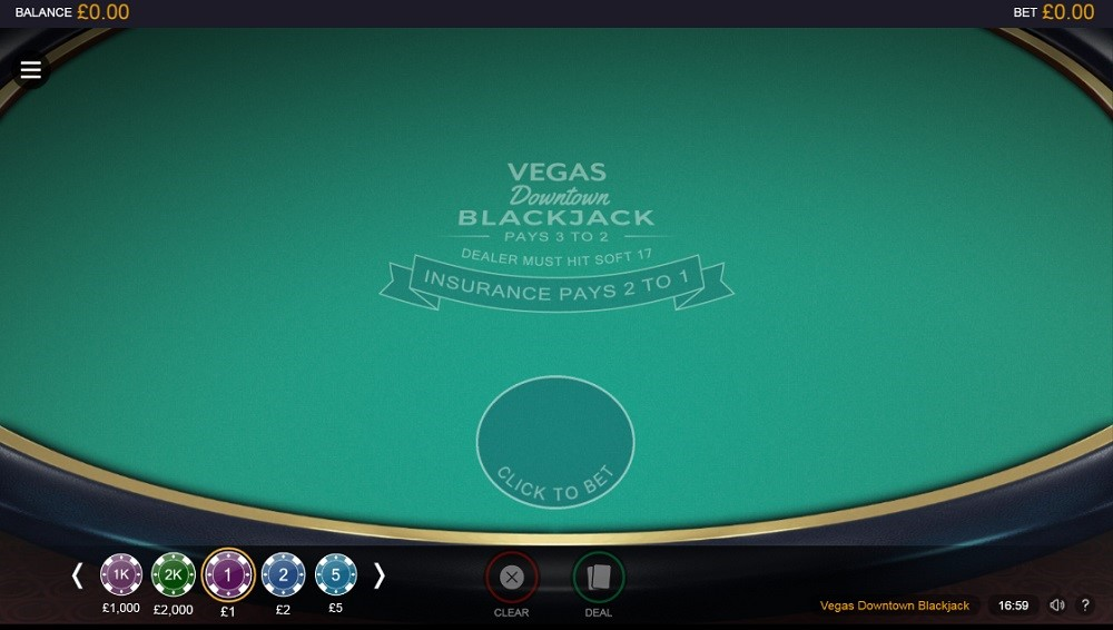 Hopa Casino Automated Blackjack