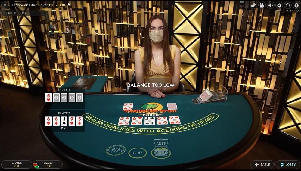 Hopa Casino Live Poker