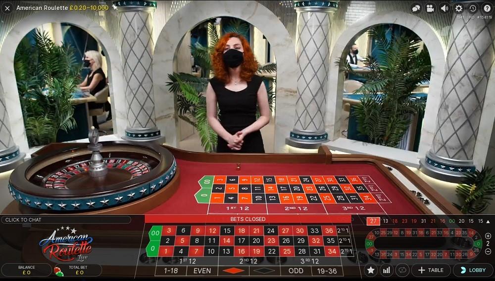Hopa Casino Live Roulette