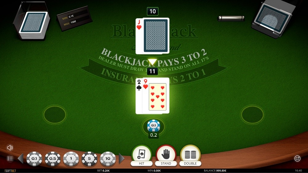 Hyper Casino Automated Blackjack