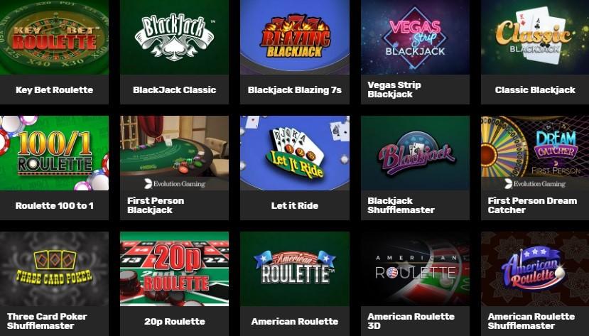Hyper Casino Automated Casino Table Games