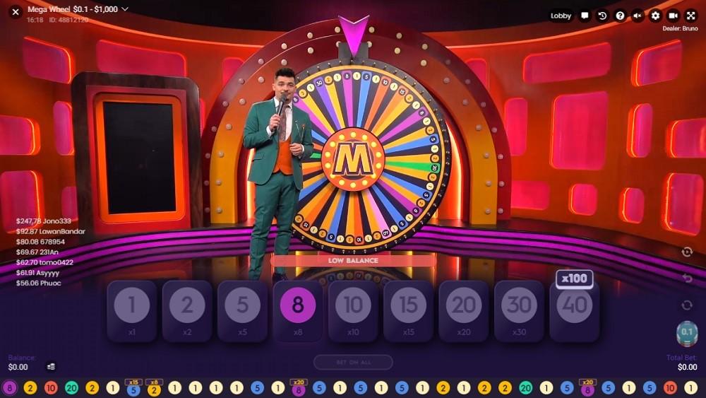 Hyper Casino Live Game Show