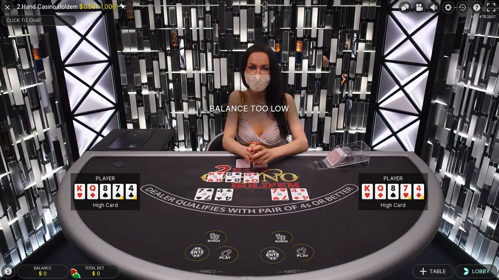 Hyper Casino Live Poker