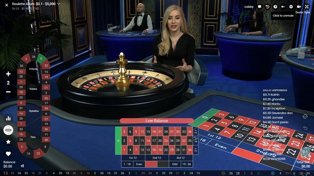 Hyper Casino Live Roulette