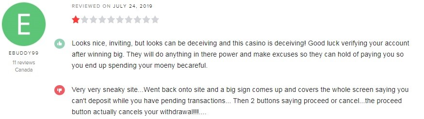 Hyper Casino Player Review