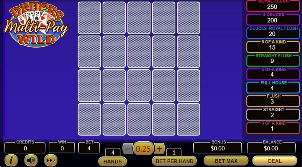Intertops Casino Automated Poker