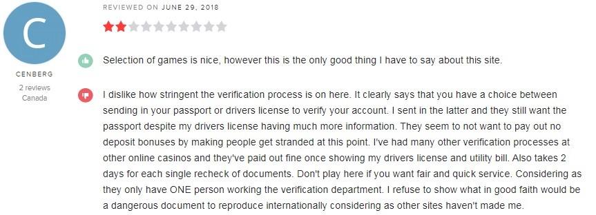 Intertops Casino Player Review 2