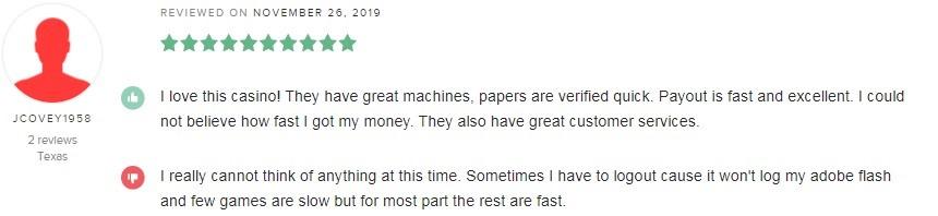 Intertops Casino Player Review 4