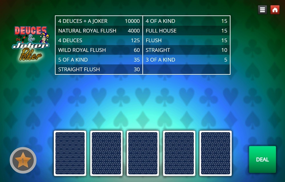 Lucky Creek Casino Automated Poker