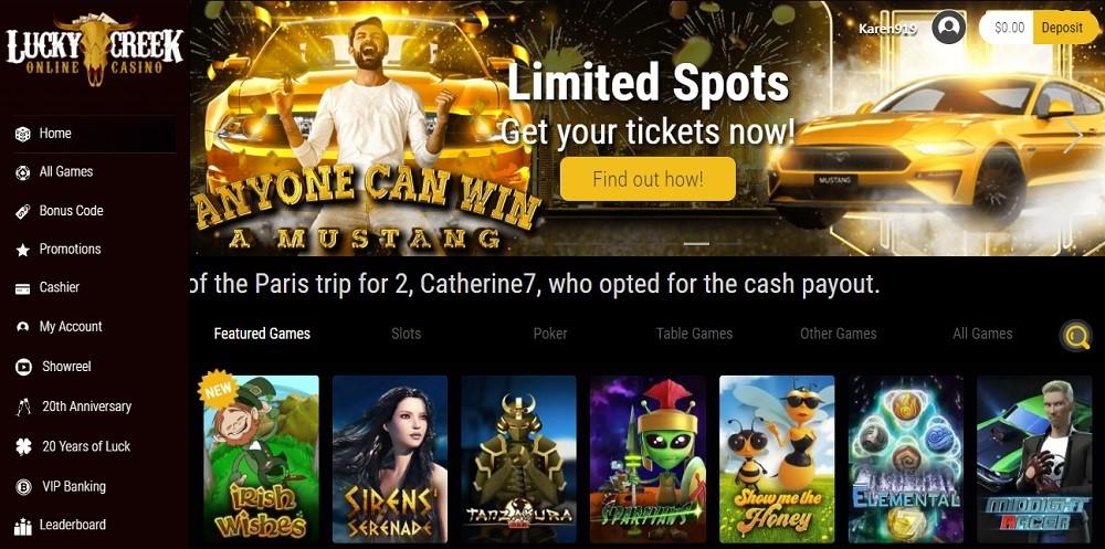 Lucky Creek Casino Slots 5