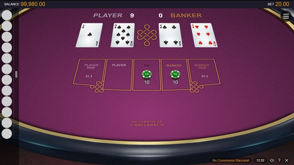 Lucky Nugget Casino Automated Baccarat