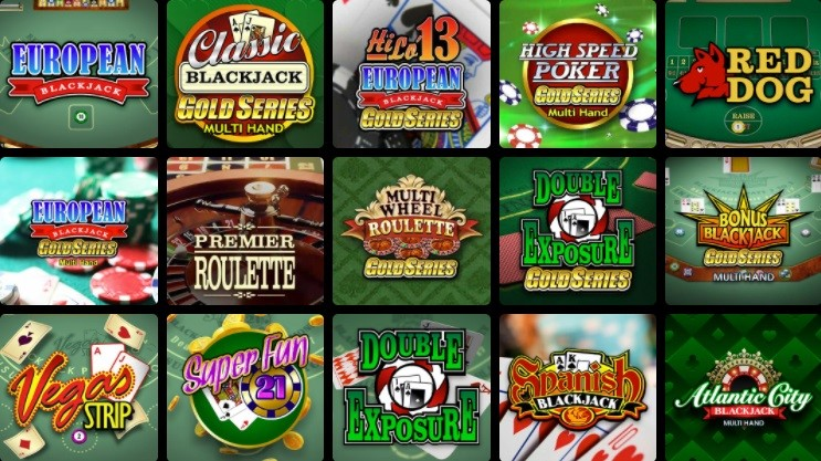 Lucky Nugget Casino Automated Casino Table Games