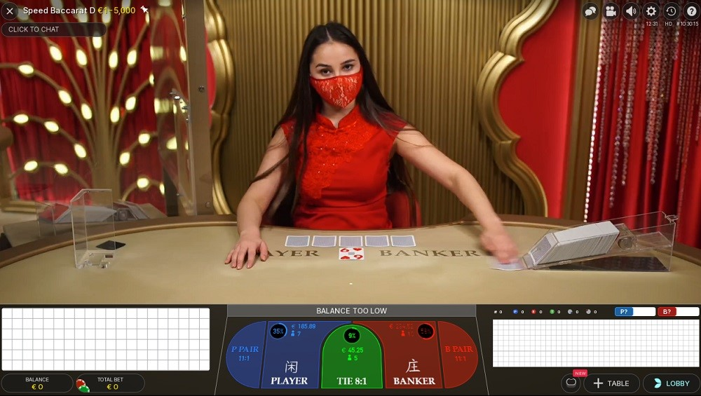 Lucky Nugget Casino Live Baccarat
