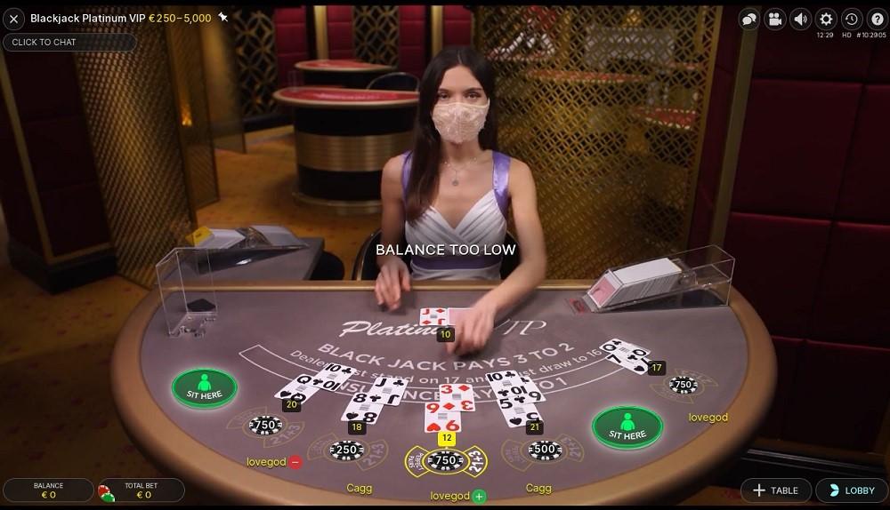 Lucky Nugget Casino Live Blackjack