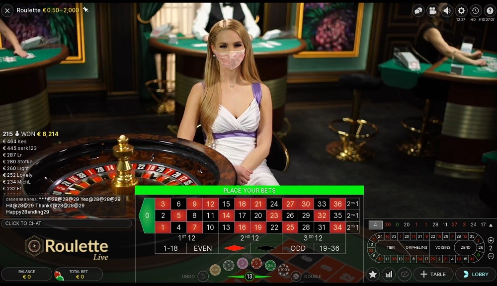 Lucky Nugget Casino Live Roulette