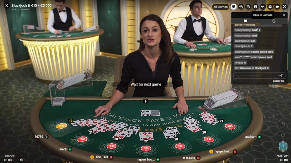 Maneki Casino Live Blackjack