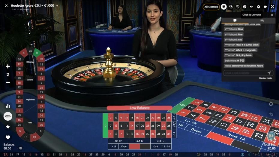 Maneki Casino Live Roulette