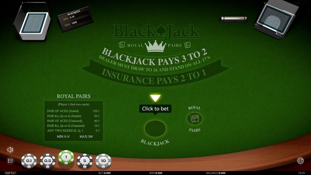 Rembrandt Casino Automated Blackjack