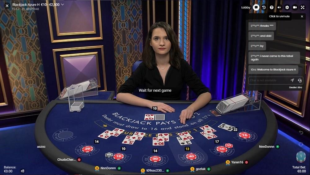 Rembrandt Casino Live Blackjack
