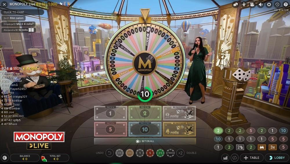 Rembrandt Casino Live Game Show