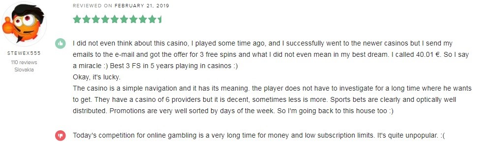 Rembrandt Casino Player Review 5