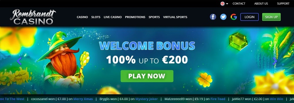 Rembrandt Casino Review