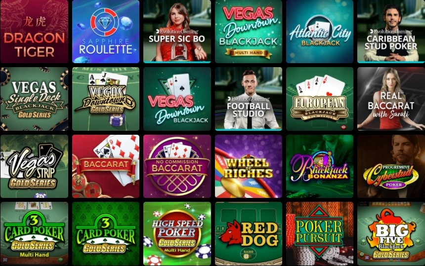River Belle Casino Automated Casino Table Games